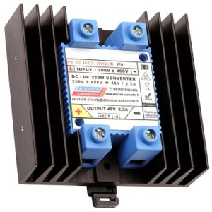 250W dcdc converter - mounting on dinrail or wall 3