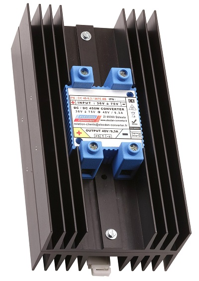 450W dcdc converter - mounting on dinrail or wall 4S