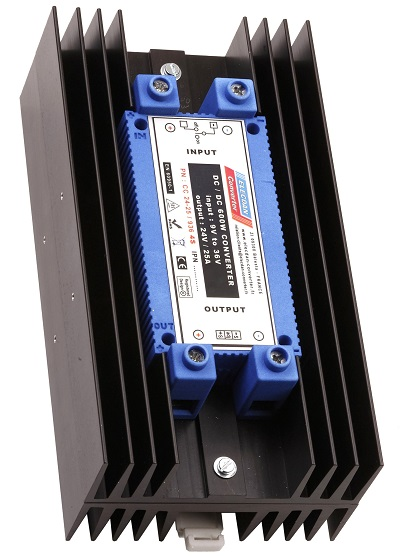 600W dcdc converter - mounting on dinrail or wall 4S