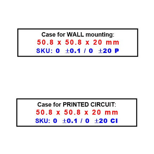 CSA11 - mounting on wall or printed circuit - isolated analog signal converter voltage to current