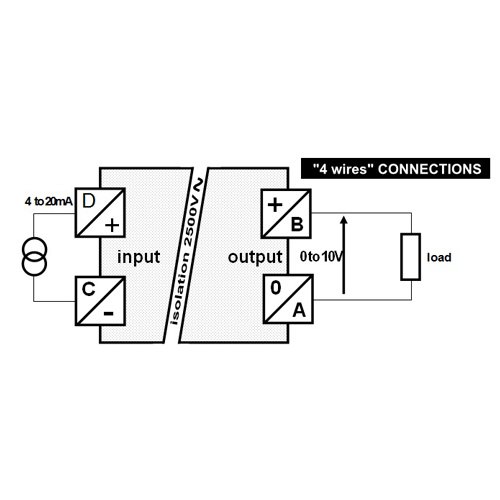 Current Voltage Self Powered Converter Zero Noise