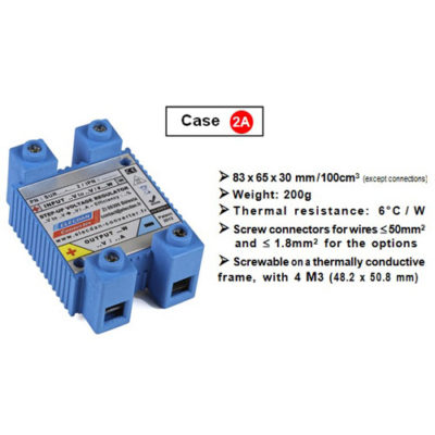Controllable converter DC-DC - Case 2A